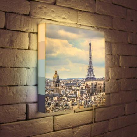 Лайтбокс Париж 35x35-103 eps 103 de 25