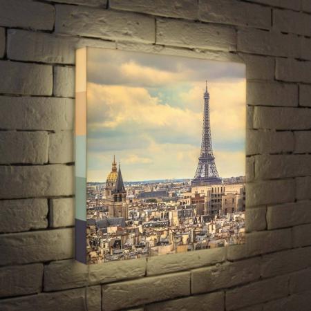 Лайтбокс Париж 45x45-103 eps 103 de 25