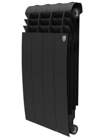 Радиатор Royal Thermo BiLiner 500 Noir Sable 6 секций водяной радиатор отопления royal thermo biliner 500 12 noir sable