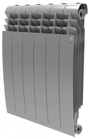 Радиатор Royal Thermo BiLiner 500 Silver Satin 4 секции  цена и фото