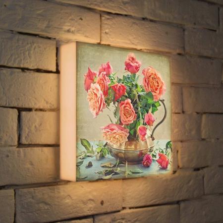 Лайтбокс Розы 25x25-089