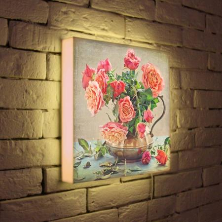 Лайтбокс Розы 35x35-089
