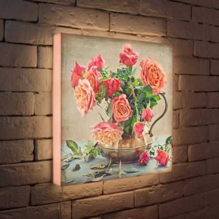 Лайтбокс Розы 45x45-089