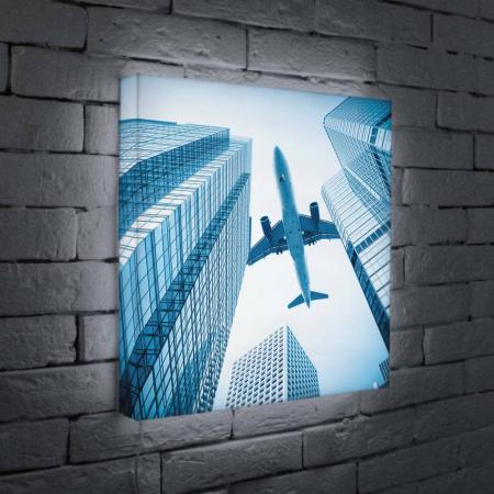 Лайтбокс Самолет 45x45-025 лайтбокс самолет 45x45 025