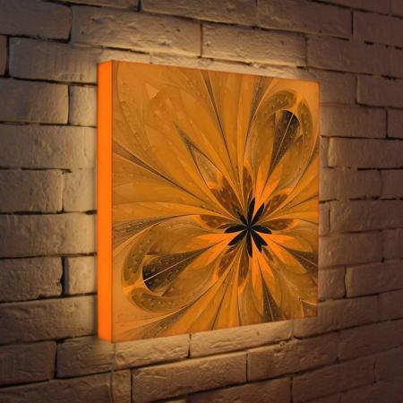 Лайтбокс Цветок 3 45x45-050
