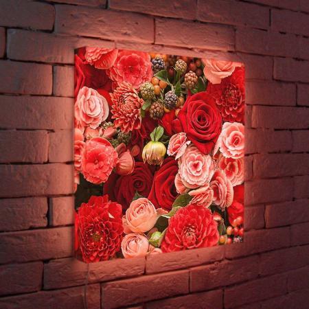 Лайтбокс Цветы 45x45-097