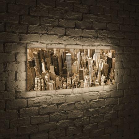 Лайтбокс панорамный Манхеттен 45x135-p009 ручной фонарик blog 14 led slt p009