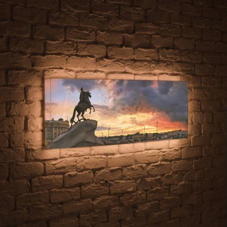 Лайтбокс панорамный Медный всадник 45x135-p031 fotoniobox лайтбокс панорамный медный всадник 45x135 p031