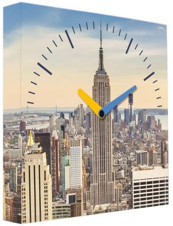 Часы настенные FotonioBox Манхеттен PB-002-35 разноцветный