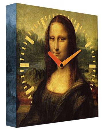 Часы настенные FotonioBox Мона Лиза PB-017-35 коричневый