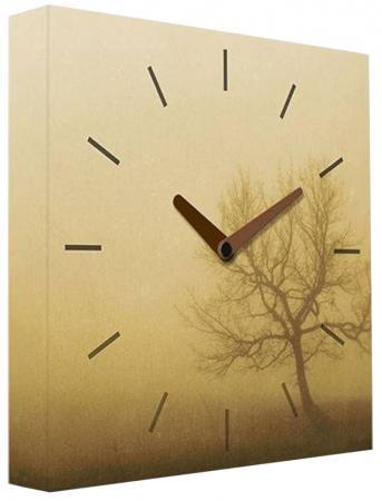 Часы настенные FotonioBox Осенний туман PB-001-35 коричневый рюкзак picard 8658 851 001 schwarz
