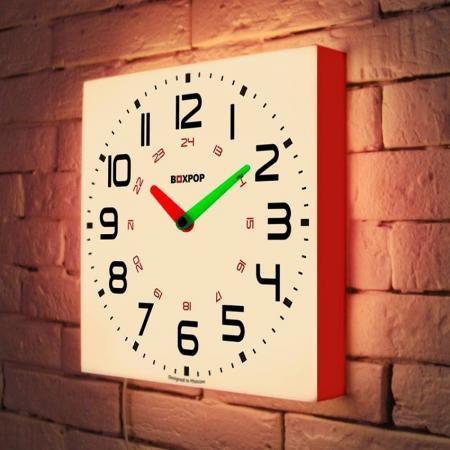 Световые часы BoxPop III LB-503-35 и м стронская 150 тренировочных упражнений по русскому языку 5 9 классы
