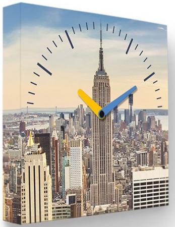 Часы FotonioBox Манхеттен LB-002-35 серый
