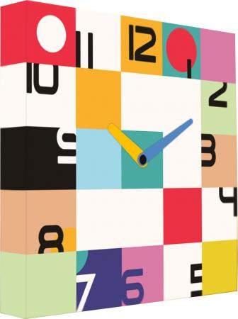 Часы настенные FotonioBox Цвет времени LB-019-35 разноцветный