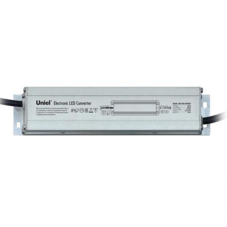 Фото - Блок питания для светодиодов Uniel (06010) 40W 3,3мА IP67 UET-VAL-040A67 блок питания для светодиодов uniel 10590 150w 6 25ма ip67 uet vaj 150b67