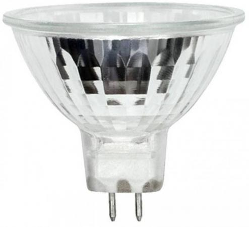 Лампа галогенная полусфера Uniel 05410 GU5.3 35W 4000K JCDR-X35/4000/GU5.3 лампа галогенная 05408 gu10 35w полусфера прозрачная jcdr x35 4000 gu10