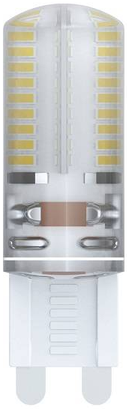 Лампа светодиодная капсульная Uniel 10712 G9 5W 3000K LED-JCD-5W/NW/G9/CL/DIM лампа светодиодная 10031 g9 2 5w 4500k капсульная прозрачная led jcd 2 5w nw g9 cl s