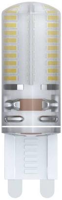Лампа светодиодная капсульная Uniel 10712 G9 5W 3000K LED-JCD-5W/NW/G9/CL/DIM лампа светодиодная диммируемая 10708 g9 25w капсульная матовый led jcd 4w ww g9 cl dim siz03tr