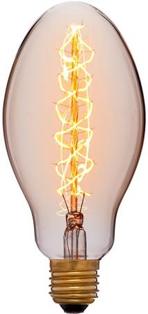 Лампа накаливания груша Sun Lumen E75 F5 E27 40W 2200K 052-054 лампочка sun lumen 054 054 164