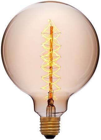 Лампа накаливания шар Sun Lumen G125 F2 E27 40W 2200K 052-030 sun lumen лампа накаливания sun lumen большой шар прозрачный e27 40w 2200к 052 030