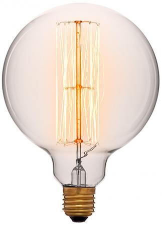 Лампа накаливания шар Sun Lumen G125 F2 E27 60W 2200K 053-372 mf2300 f2