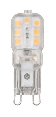 Лампа светодиодная колба Gauss G9 3W 2700K 107409103