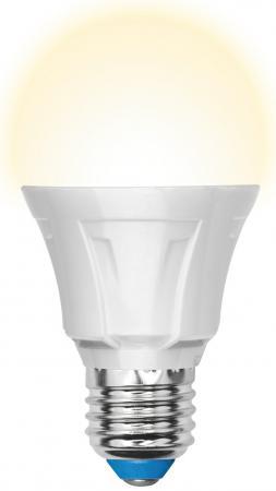 Лампа светодиодная груша Uniel 07887 E27 9W 3000K LED-A60-9W/WW/E27/FR ALP01WH