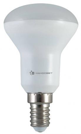 Лампа светодиодная рефлекторная Наносвет L113 E14 6W 4000K LE-R50-6/E14/840 энергосберегающая лампа наносвет l251 e14 840 ecoled