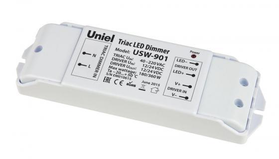 Диммер - преобразователь триак - ШИМ (11112) Uniel USW-901