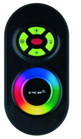 Контроллер для светодиодных лент 12/24В с пультом ДУ 2,4 ГГц (11105) Uniel ULC-G10-RGB Black цены