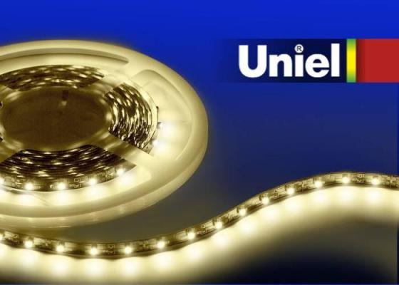 Светодиодная лента Uniel (04901) 3M теплый белый 14.4W ULS-3528-60LED/m-8mm-IP20-DC12V-4,8W/m-3M-WW free shipping factory dia 3m newly 0 8mm pvc hot selling inflatable zorbing ball price inflatable body zorb ball for sale
