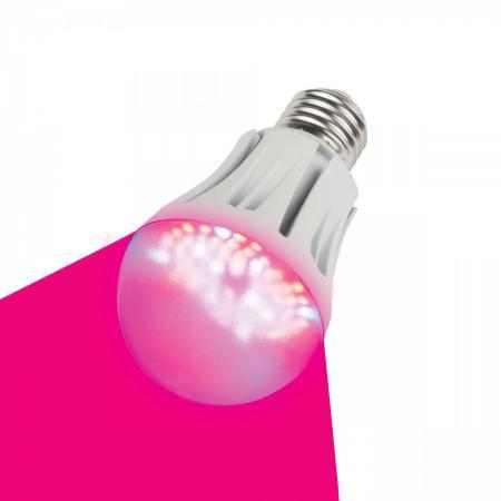 Лампа светодиодная шар Uniel 09645 E27 9W LED-A60-9W/SP/E27/CL для растений светодиодная лампа 9w led light 9w 1 yks