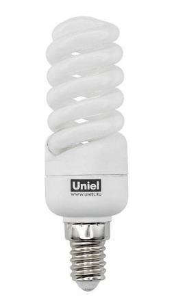 Лампа энергосберегающая спираль Uniel 01098 E14 13W 2700K ESL-S21-13/2700/E14 цена