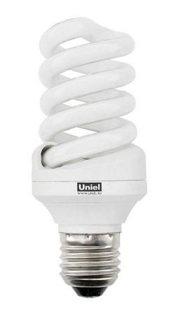 Лампа энергосберегающая свеча Uniel 0374 E27 20W 2700K ESL-S11-20/2700/E27 лампа энергосберегающая свеча uniel 03864 e27 12w esl c21 tw12 gold e27 gold свеча на ветру витая