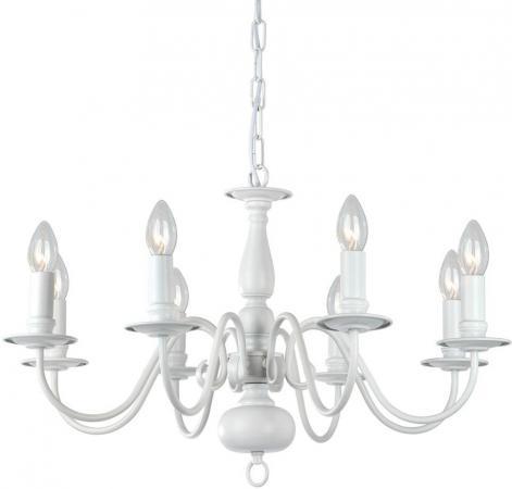 цена на Подвесная люстра Arte Lamp Antwerpen A1029LM-8WC