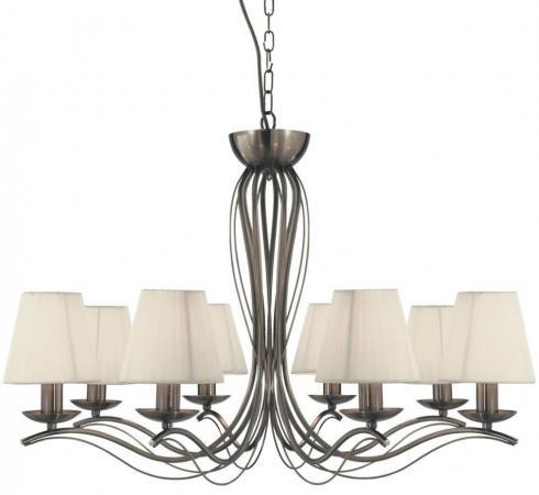 Подвесная люстра Arte Lamp Domain A9521LM-8AB arte lamp подвесная люстра arte lamp domain a9521lm 8ab