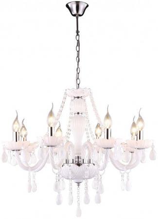 Подвесная люстра Arte Lamp Teatro A3964LM-8WH подвесная люстра arte lamp biancaneve a8110lm 8wh