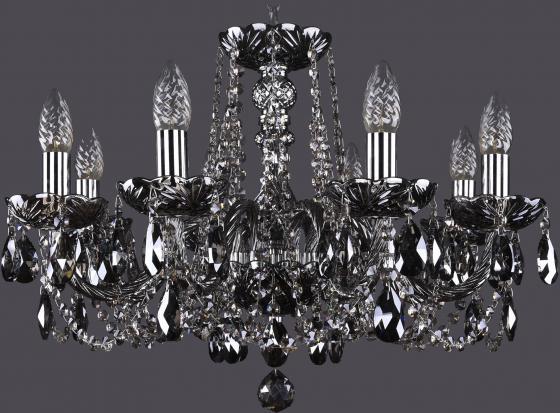 Подвесная люстра Bohemia Ivele 1402/8/195/Ni/M781 bohemia ivele crystal подвесная люстра bohemia ivele crystal 1402 8 195 ni m781