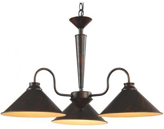 Подвесная люстра Arte Lamp Cone A9330LM-3BR люстра на штанге arte lamp aroma a6582pl 3br