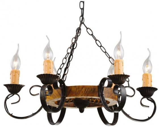 Подвесная люстра Arte Lamp Taverna A9520LM-6BR люстра потолочная коллекция taverna a9525lm 6br коричневый arte lamp арте ламп
