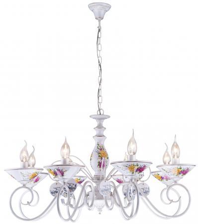 все цены на Подвесная люстра Arte Lamp Fiorato A2061LM-8WG
