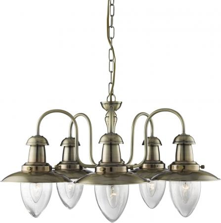 Подвесная люстра Arte Lamp Fisherman A5518LM-5AB подвесная люстра arte lamp fisherman a5518lm 5ab