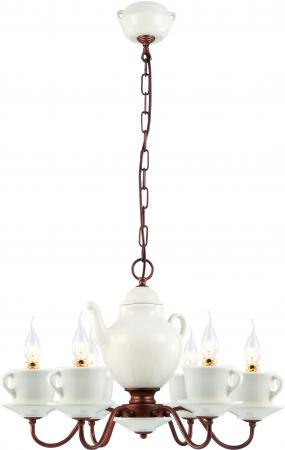 Подвесная люстра Arte Lamp Servizio A6483LM-6WH