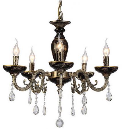 Подвесная люстра Arte Lamp Dubai A5335LM-5BA бра arte lamp dubai a5335ap 1ba