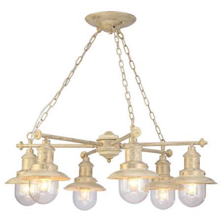 Подвесная люстра Arte Lamp Sailor A4524LM-6WG arte lamp подвесная люстра arte lamp kiana a5656lm 6wg