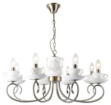 Подвесная люстра Arte Lamp Teapot A6380LM-8AB подвесная люстра arte lamp teapot a6380lm 8ab