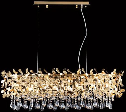 Подвесная люстра Crystal Lux Romeo SP8 Gold L1000 подвесная люстра crystal lux hollywood sp8 gold