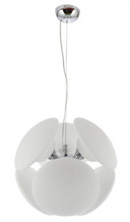 Подвесная люстра Luce Solara Moderno 8001/6S Chrome/White подвесной светильник luce solara 8001 8001 5s gold white