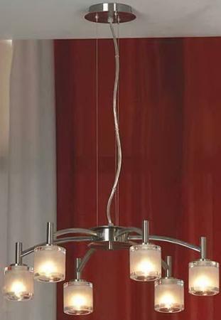 Подвесная люстра Lussole Vittorito LSC-6003-06