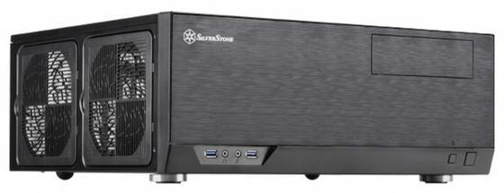 все цены на  Корпус ATX SilverStone SST-GD09B Без БП чёрный  онлайн
